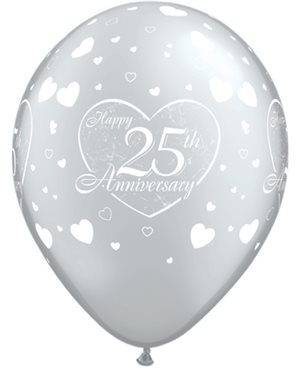 25th Anniversary Little Hearts