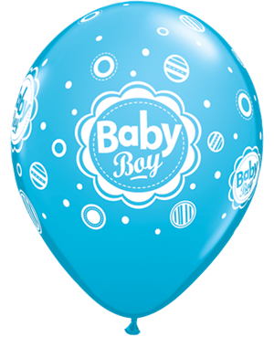 Baby Boy Dots - Robin's Egg Blue