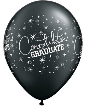 Surtido Congratulations Graduate - Onyx Black & Silver