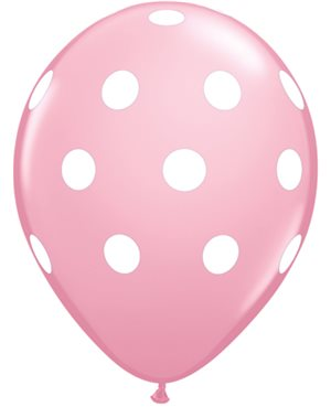 Big Polka Dots - Pink