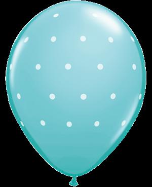 Small Polka Dots Surtido Azules