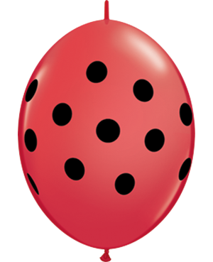 Big Polka Dots Quick Link - Red