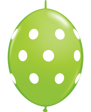 Big Polka Dots - Lime Green, Wild Berry & Robin's Egg Blue