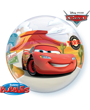 Bubbles Lightning McQueen & Mater