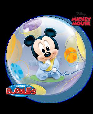 Bubbles Baby Mickey