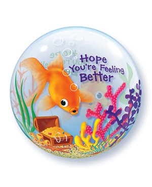 Bubbles Feeling Better Fish Bowl