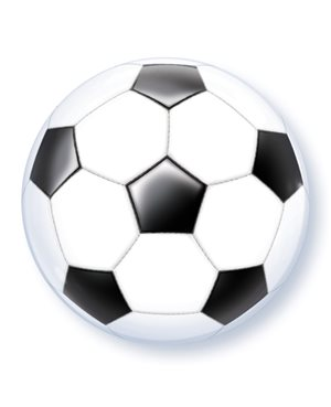 Bubbles Soccer Ball