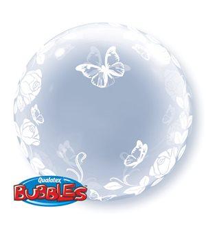 Deco Bubble - Elegant Roses & Butterflies