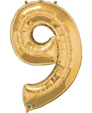 Number Nine - Metallic Gold