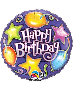 Birthday Stars & Balloons