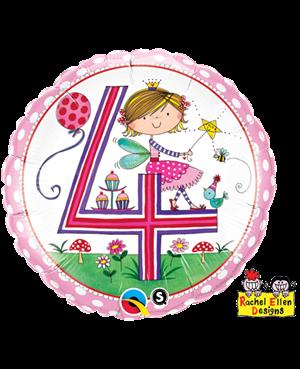 Rachel Ellen - Age 4 Fairy Polka Dots