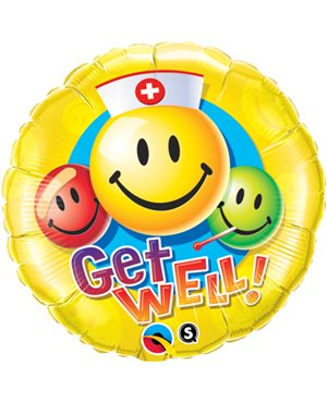 Get Well Smiley Faces