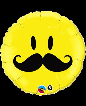 Smile Face Mustache