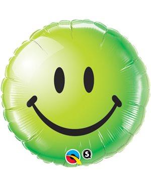 Smile Face Green