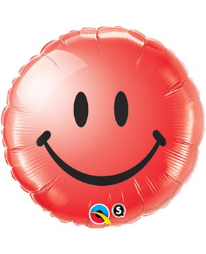 Smile Face Red