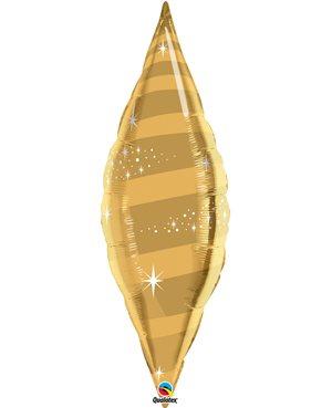 """Taper Swirl - Gold 38"""" (Minimo 3 Unid)"""