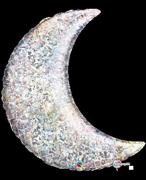 Crescent Moon Holografic Silver (Minimo 3 Unid)