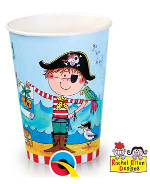 Pirate Partyware Party Paper Cups