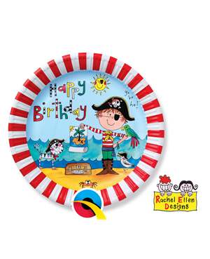 Pirate Partyware Party Plates