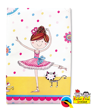 Ballerina Partyware Party Table Cover