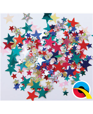 Confetti Multi-Coloured Stars