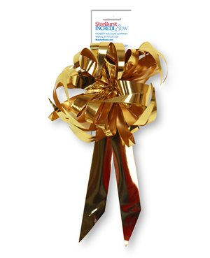 Starburst Bow - Gold Metallic