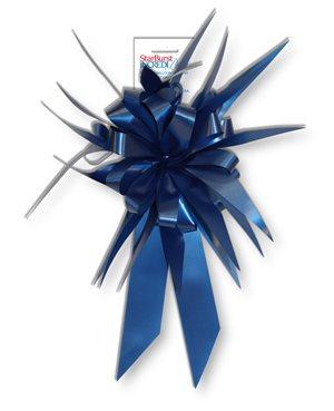 Starburst Bow - Royal Blue
