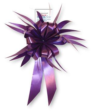 Starburst Bow - Purple