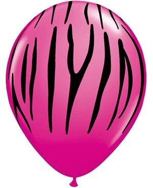 """Zebra Stripes 11"""" Wild Berry 50ct"""