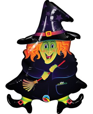 "Wacky Witch -14"" Air-fill- Minimo 5 Unid"