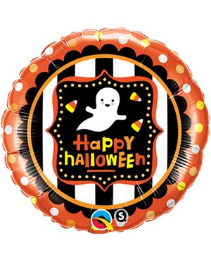 "Halloween Ghost& Candy Corn 18"" - Minimo 3 Unid"