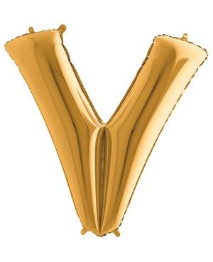 Letra V- Disponibles en 4 Colores- 2 Tamaños