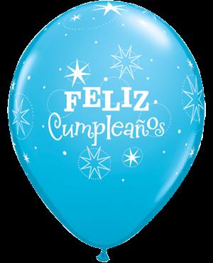 Globo de Látex- Feliz Cumpleaños