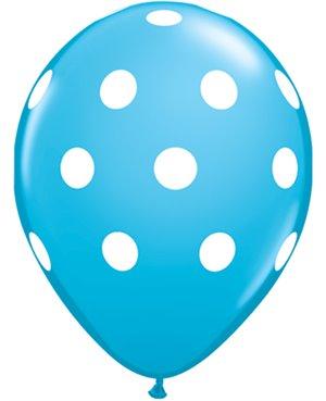 """Big Polka Dot Surtido- Dos tamaños disponible 11""""-16"""""""