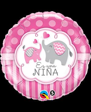 """Es una Niña Elefante 18"""" Minimo 3 unid"""