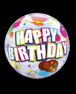 Birthday Cupcakes- Air-fill (10ct)