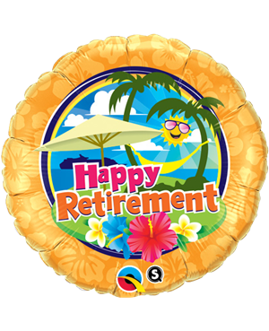"Retirement Sinshine 18"" (Minimo 3 Unid)"
