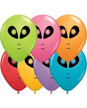 """Space Alien 5"""" (Festive Assortment) (100ct)"""