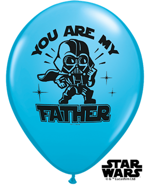 "Star Wars You Are My Father 11"" (25ct)"