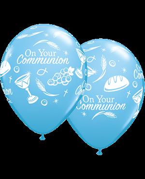 """Communion Symbols 11"""" Pale Blue  (25ct)"""