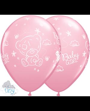 "Tiny Tatty Teddy Baby Girl 11"" Pink (25ct)"