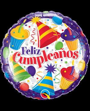 Cumpleaños Cupcakes (01ct) (Minimo 3 Unid)