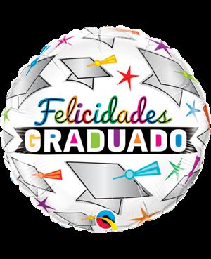 """Felicidades de Graduación y Estrellas 18"""" (Minimo 3 Unid)"""