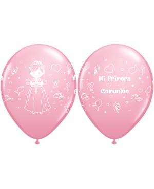 Comunión Niña Muñeca bolsa de 50 unid (Pink)