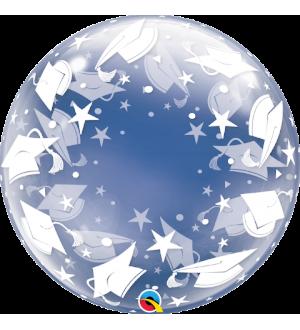"""Deco-Bubble -Graduation Caps 24"""" (Minimo 3 unid)"""