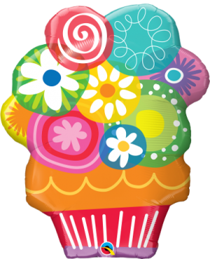 """Floral Circles Bouquet 34"""" (Minimo 3 Unid)"""