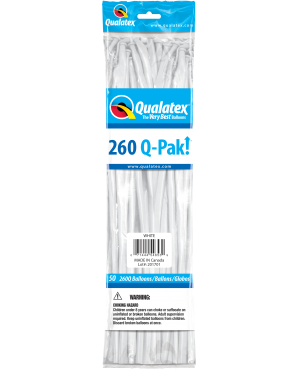 Q- Pack  260Q White  (50 Unid)
