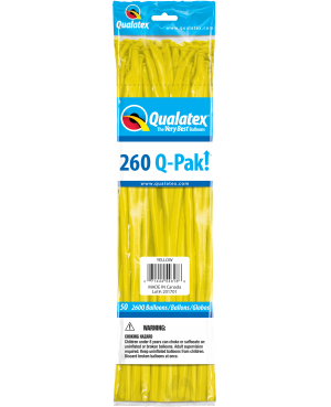 Q- Pack  260Q Yellow   (50 Unid)