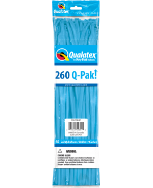 Q- Pack  260Q Pale Blue    (50 Unid)