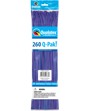 Q- Pack  260Q Purple Violet  (50 Unid)